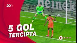 Belanda Menang Dramatis dari Ukraina di Piala Eropa