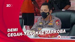 Kapolri Bakal Bentuk Kampung Tangguh Narkoba di Seluruh Indonesia