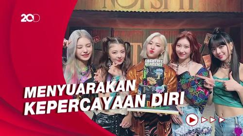 Be Bold! ITZY Didapuk Jadi Brand Ambassador Maybelline