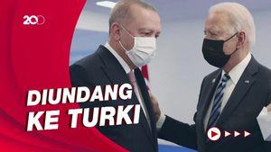 Erdogan Sebut Pertemuan Pertama dengan Biden Tak Ada Terobosan