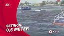 Detik-detik Tsunami Terjang Maluku Tengah Usai Gempa M 6,1