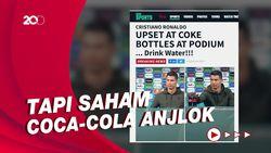 Aksi Cristiano Ronaldo Singkirkan Coca-Cola Dipuji WHO