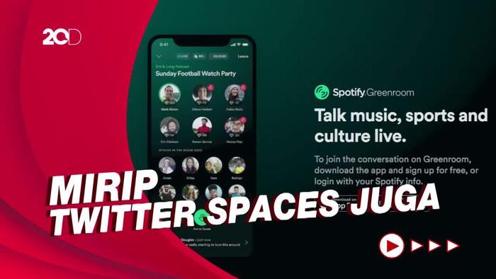 Spotify Hadirkan Greenroom, Layanan Pesaing Clubhouse