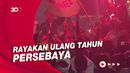 Detik-detik Massa Bonek Ricuh, Polisi Tembakkan Gas Air Mata