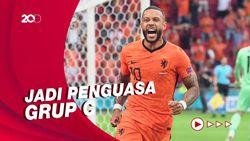 Grup C Euro 2020: Belanda Gilas Austria 2-0