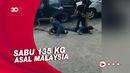 Polresta Banjarmasin Gagalkan Sabu 135 Kg Asal Malaysia