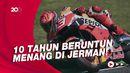 MotoGP Jerman: Marc Marquez Rajanya Sirkuit Sachsenring