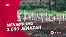 TPU Marcanda Gowa Sudah Diisi 1.007 Makam Jenazah Pasien Covid-19