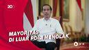 SMRC: 66% Pemilih PDIP Setuju Jokowi 3 Periode, Gerindra 78% Menolak