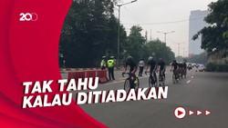 Jalur Road Bike di JLNT Ditiadakan, Banyak Pesepeda Kecele