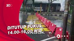 Cegah Potensi Kerumunan, Jalan di Kota Bandung Ditutup