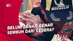 Saat Marquez Pijiti Bahu Kanannya Usai Juara MotoGP Jerman