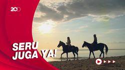 Celebrity on Vacation: Ayunan-Berkuda di Sunset Point Gili Trawangan