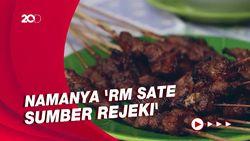Bikin Laper: Kuliner Sate Kambing yang Enak di Jakarta Barat