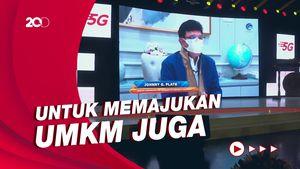 Indosat Luncurkan 5G di Solo, Gibran:   Semua untuk Masyarakat