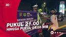 Pembatasan Mobilitas di DKI Jakarta Mulai Diterapkan, Begini Suasananya
