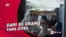 Tes Antigen Acak di Stasiun Bekasi, Seorang Calon Penumpang Reaktif