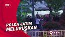 Heboh Video Massa Lempar Petasan ke Pos Penyekatan Suramadu