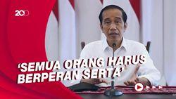 Pesan Sederhana Jokowi: Tinggal di Rumah, Jika Tak Ada Hal Mendesak