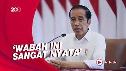 Jokowi: Penyakit Tak Kenal Ras-Agama, Siapa Pun Bisa Kena