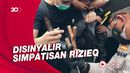 Polisi Amankan Sejumlah Orang Jelang Vonis Rizieq, Ada yang Bawa Pisau!