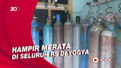 Kasus Covid-19 di Yogya Pecah Rekor, Stok Oksigen RS Rujukan Menipis