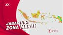 Ini 20 Wilayah Zona Merah Covid-19, Jawa Tengah Terbanyak!
