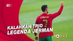 Ronaldo Ukir Rekor di Piala Eropa dan Dunia, Kalahkan Trio Legenda Jerman
