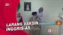Momen Pemimpin Tertinggi Iran Disuntik Vaksin Buatan Dalam Negeri