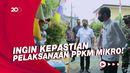 Jokowi Sidak PPKM Mikro di Cempaka Putih!
