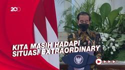 Jokowi: Pandemi Belum Berakhir, Kita Harus Tetap Waspada