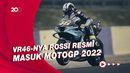 Rossi Ngaku Bakal Sulit untuk Perkuat Aramco VR46 di MotoGP 2022