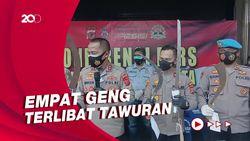 Polisi Ringkus 20 Anggota Geng Bersajam Terlibat Tawuran di Cirebon