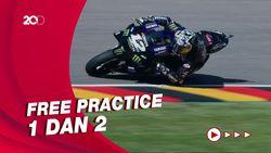 Vinales Paling Cepat di Latihan Bebas Kedua MotoGP Belanda