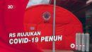 Ruang Pasien Penuh, RS Rujukan Covid-19 di Semarang Dirikan Tenda Darurat