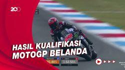 Maverick Vinales Raih Pole Position di MotoGP Belanda