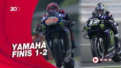 Quartararo Juara MotoGP Belanda, Vinales Kedua