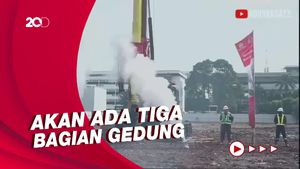 Jaksa Agung Resmikan Pembangunan Gedung Kejagung yang Terbakar