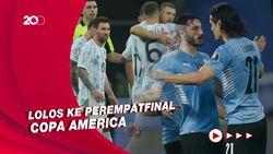 Copa America: Argentina Juara Grup A, Uruguay Runner Up