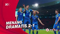 Ukraina Singkirkan Swedia, Tantang Inggris di Perempatfinal