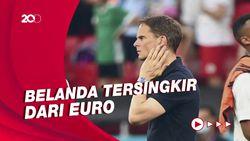 Frank de Boer Pisah dengan Belanda Usai Gagal di Euro