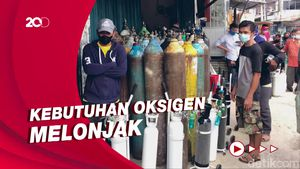 Pemerintah Pesan 10 Ribu Tabung Oksigen dari Singapura