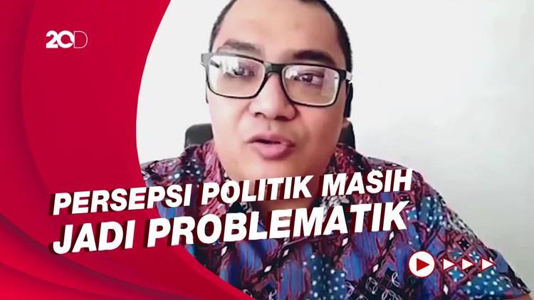 Survei: Eks Pendukung Prabowo di Pilpres Banyak yang Ogah Divaksin