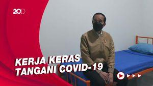Jokowi: Terima Kasih Dokter-Nakes Telah Bekerja Pagi, Siang, dan Malam