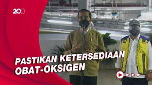 Jokowi Minta Gubernur-Walkot Turun Lapangan Cek Alkes-Tempat Isolasi