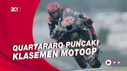 Separuh Musim MotoGP 2021: Quartararo Raih 4 Kemenangan dari 6 Podium