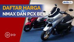 Mulai Rp 16 Jutaan, Ini Harga Yamaha Nmax dan Honda PCX Bekas