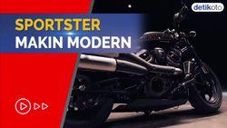 Intip Moge Baru Harley Davidson, Sportster S 2021