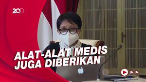 RI Dapat Bantuan Ratusan Tabung Oksigen dari Arab-Singapura