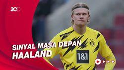 Erling Haaland Bertahan di Borussia Dortmund?